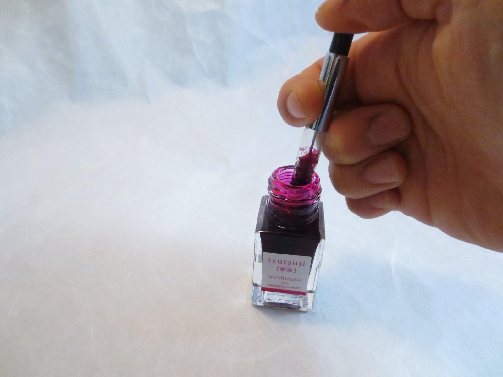 カートリッジ式と吸入式・コンバーター式。種類別万年筆のインク吸入のしかた