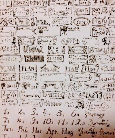手帳用ラベルシールダウンロードができる♪万年筆でイラスト描いてみた